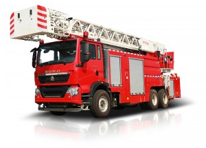 ladder fire fighting Vehicle