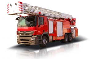 Aerial ladder fire fighting Vehicle